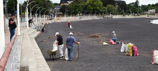 Villarrica prepara sus playas para próxima temporada estival - Red Informativa Villarrica