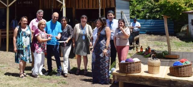 Inauguran nuevo Mercado Cultural Molco Alto en Villarrica - Red Informativa Villarrica