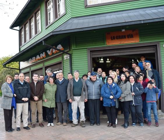 Barrio Comercial Aviador Acevedo culmina su trabajo en una primera etapa - Red Informativa Villarrica