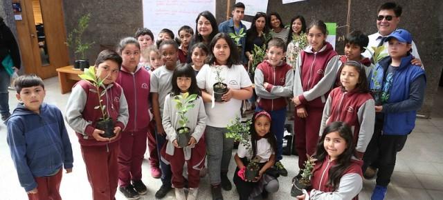 Estudiantes del Campus Villarrica UC invitan a trafkintu sustentable en el frontis municipal - Red Informativa Villarrica
