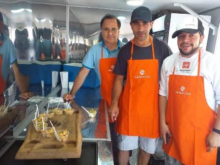 Pisciculturas de La Araucanía se hicieron presentes en la 7ª fiesta del Baqueano - Red Informativa Villarrica