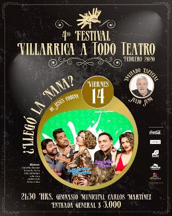 """Festival """"Villarrica a Todo Teatro 2020"""" - Red Informativa Villarrica"""