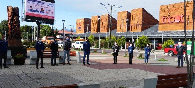 Acto simbólico con ocasión del Aniversario 468 de la fundación de Villarrica - Red Informativa Villarrica