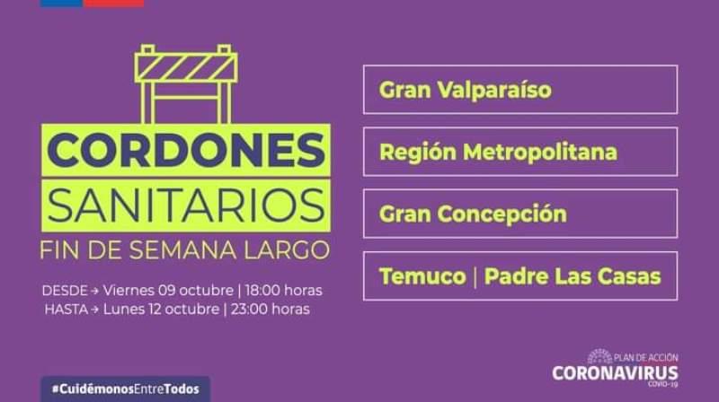 Villarrica retrocede a Paso 2 de Transición: A partir de este sábado 3 de octubre a las 05:00 horas - Red Informativa Villarrica